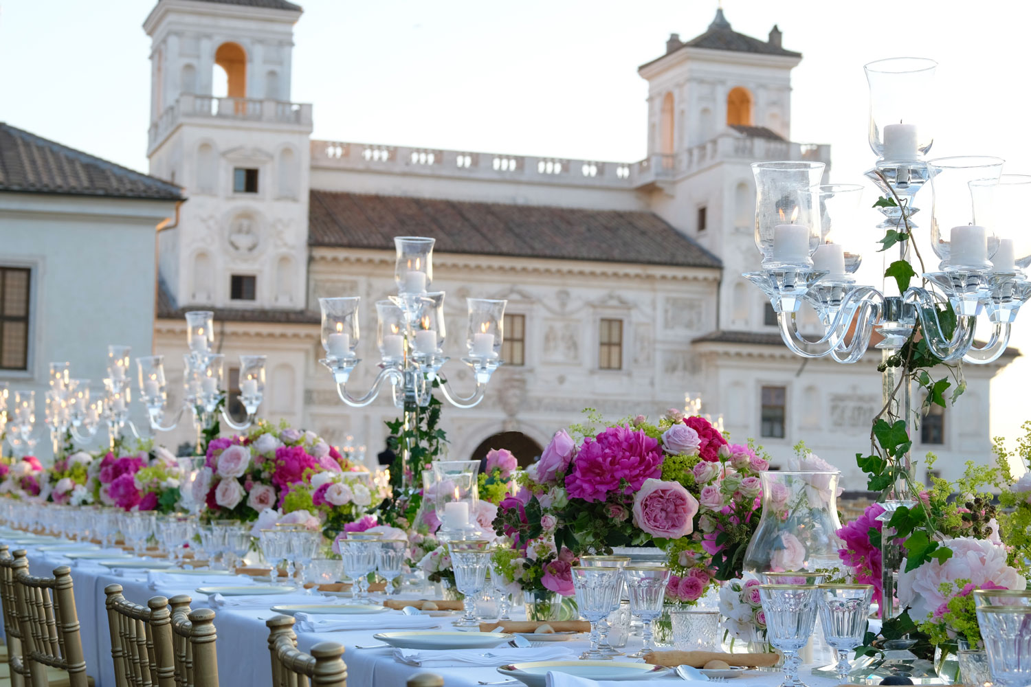 VILLA MEDICI WEDDING